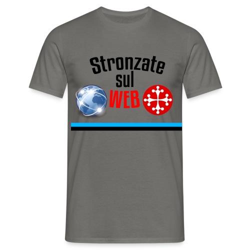 Stronzate sul web (Logo) - Maglietta da uomo