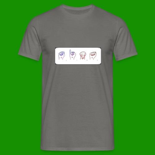 Sina Fingersprache - Männer T-Shirt