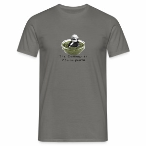 Man-in-pesto - Men's T-Shirt