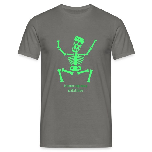 T Shirts Homo Palatinae Grün - Männer T-Shirt