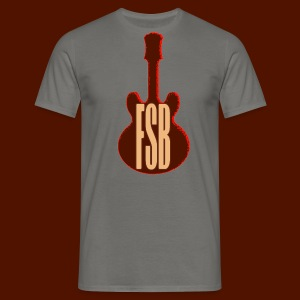 FSB Guitar Logo - Men's T-Shirt