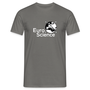 Euroscience logo White - Men's T-Shirt
