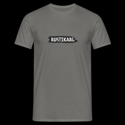 Rustikarl Schriftzug - Männer T-Shirt