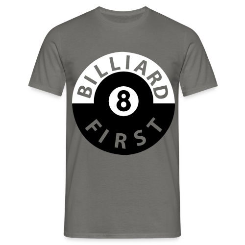 T-Shirt Billiard First - Männer T-Shirt