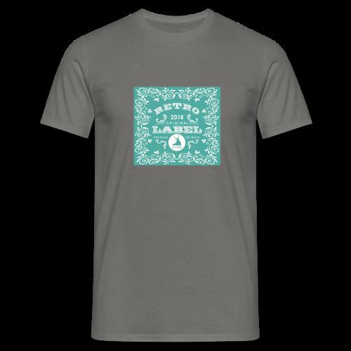 geweihbär RETRO 2018 - Männer T-Shirt