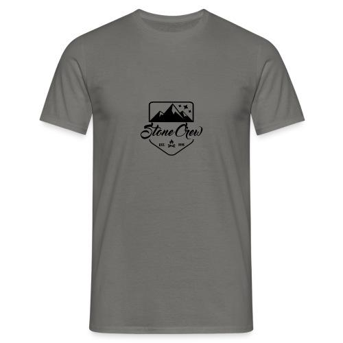 StoneCrew Logo Official (t-shirt) - T-shirt Homme