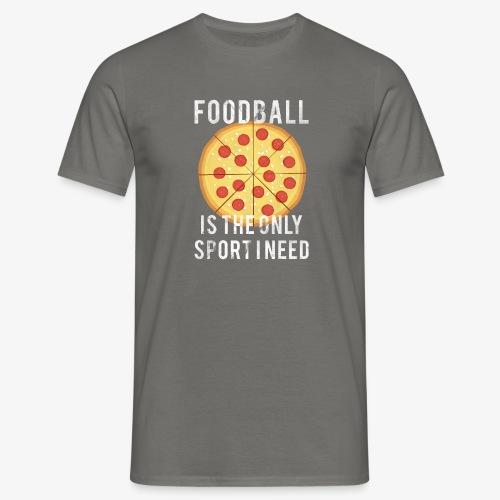 Foodball - Maglietta da uomo