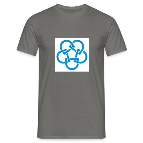 Diabetesf--rbundet_blomma__webb_pms - T-shirt herr