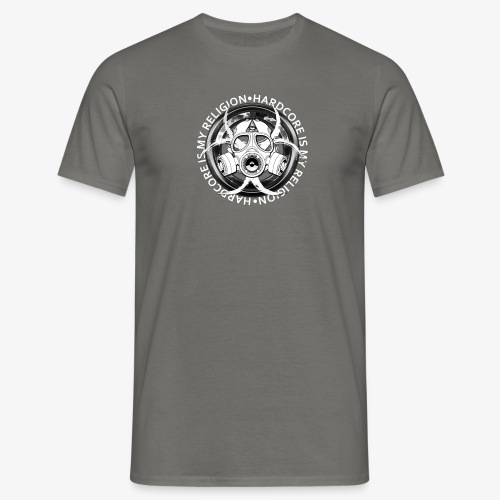 HARD CORE IS MY RELIGION - T-shirt Homme