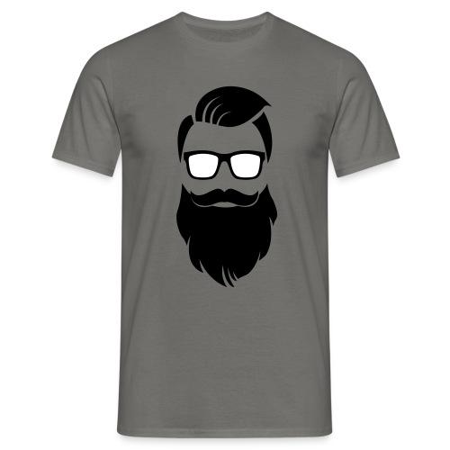 Hipster-Bart - Männer T-Shirt