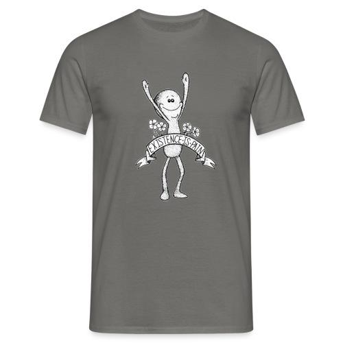 existence is pain - Männer T-Shirt