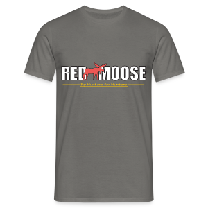Red Moose logo - T-shirt herr