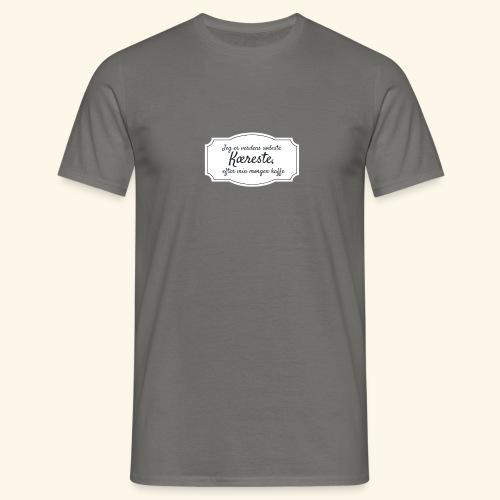 Verdens sødeste kæreste - Herre-T-shirt