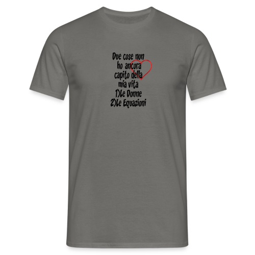 Donne Equazioni - Maglietta da uomo