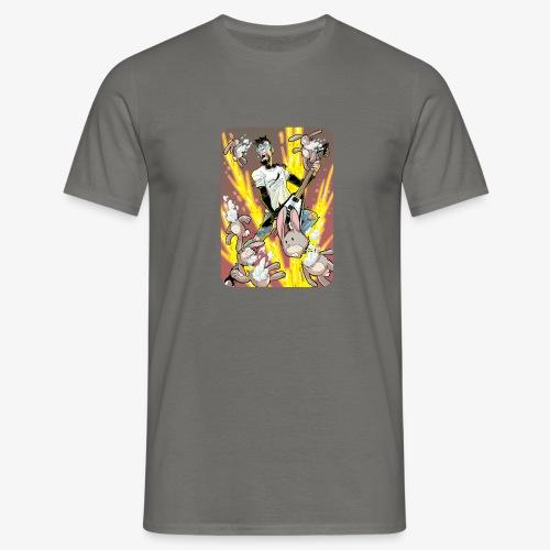 Leo Rock Bunny - T-skjorte for menn
