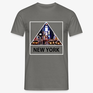 Triangle sur New York - T-shirt Homme