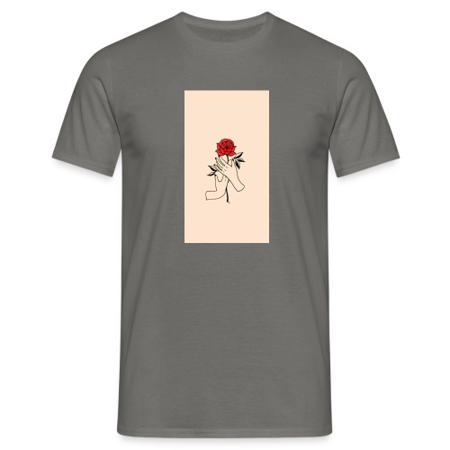 Piccolo rose - Herre-T-shirt