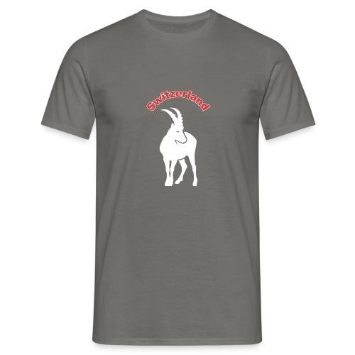 switzerland, Schweiz - Männer T-Shirt