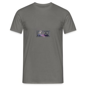 Cap logo Purple - Men's T-Shirt
