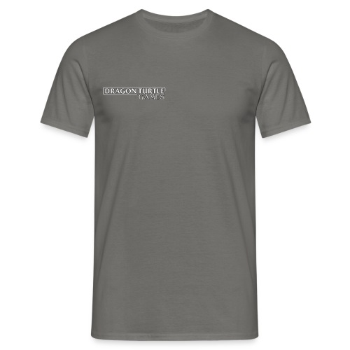 Dragon Turtle Games Logo White - Men's T-Shirt