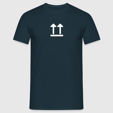 aufrecht - Männer T-Shirt