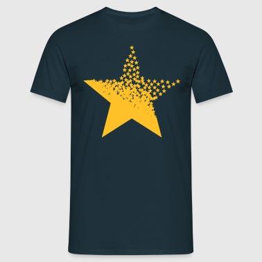 Una estrella de las estrellas  - Camiseta hombre