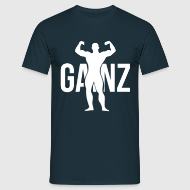 Gainz silhouette - T-skjorte for menn