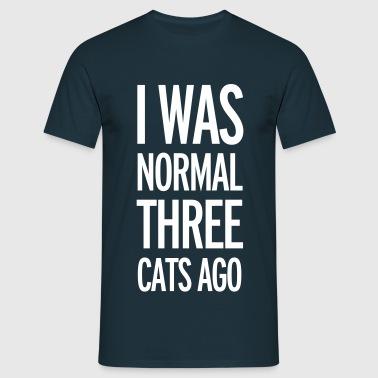 Cats - T-shirt herr