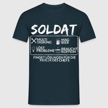 Der Soldat - Männer T-Shirt