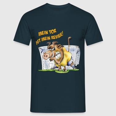 Torwart Keiler - Männer T-Shirt