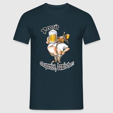 Oktoberfest-Saupreiß - Männer T-Shirt