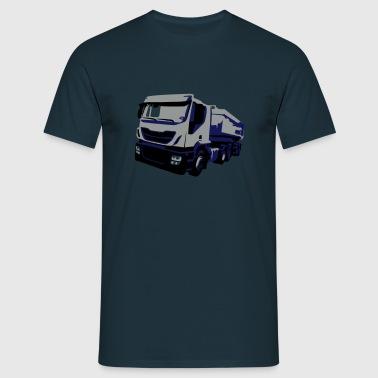 TruckIvecVektor - Männer T-Shirt