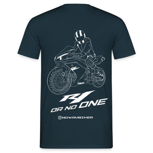 NoWayBiker - R1 or No One - T-skjorte for menn