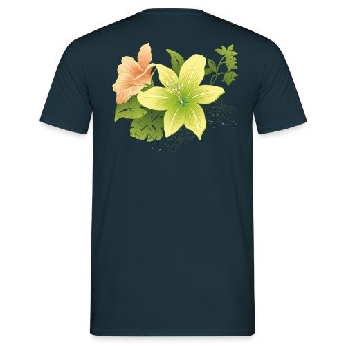 milos flor - Camiseta hombre