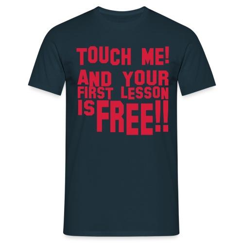 touch me4 freestyle block - Männer T-Shirt