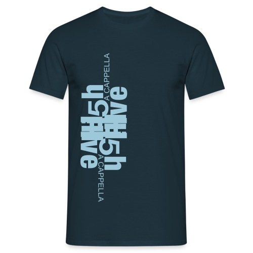 high five logo 2 cm - Männer T-Shirt