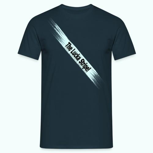LuckaStripeHorizontal - Männer T-Shirt