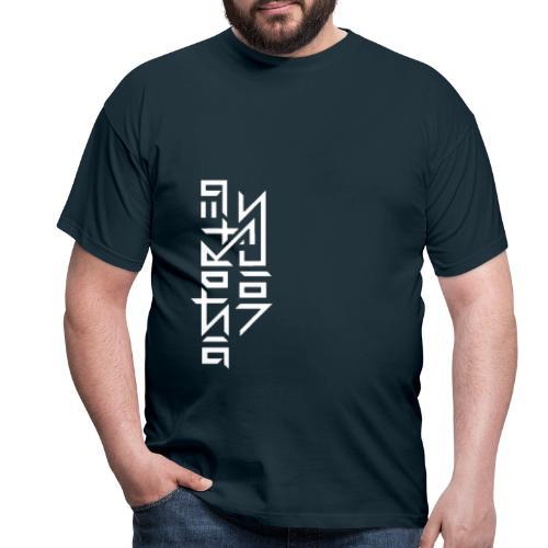 Distorted voices - Mannen T-shirt