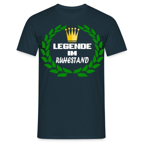 Legende im Ruhestand - Männer T-Shirt