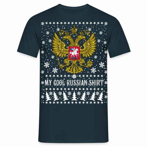 116 My Cool Russian Shirt Russland T-Shirt Snow - Männer T-Shirt