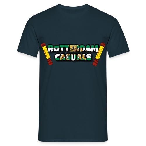 rotterdam casuals - Mannen T-shirt