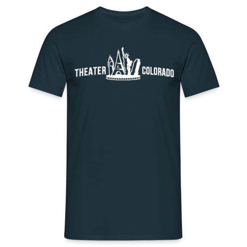 logo theater colorado SW querPNG png - Männer T-Shirt