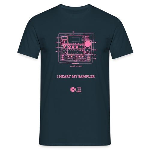 heart sp505 - Men's T-Shirt