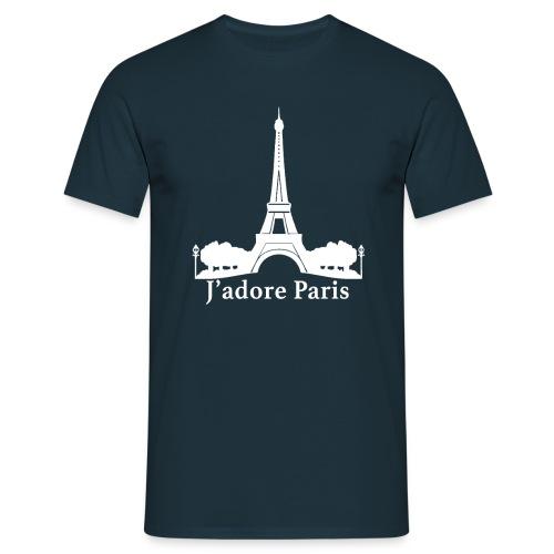Design j'adore paris ma ville - T-shirt Homme