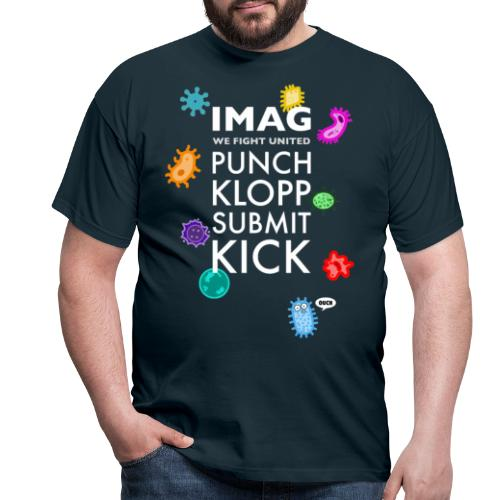We Fight United - Bunt - Männer T-Shirt