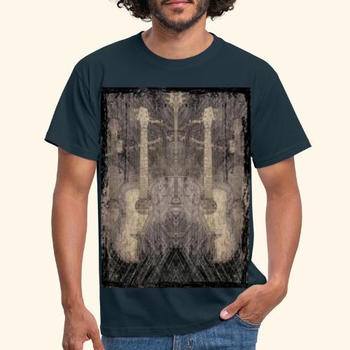 Mirrored Guitars - Männer T-Shirt