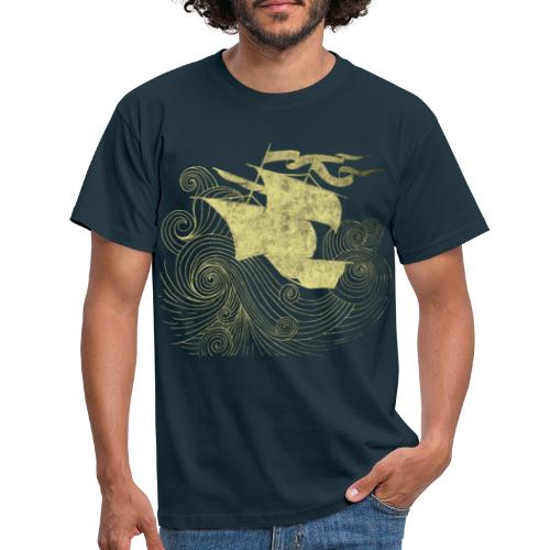 Simon Walther - Leave The Sinking Ship Behind - Men's T-Shirt