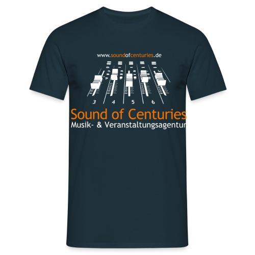 Logo SoC weiss png - Männer T-Shirt