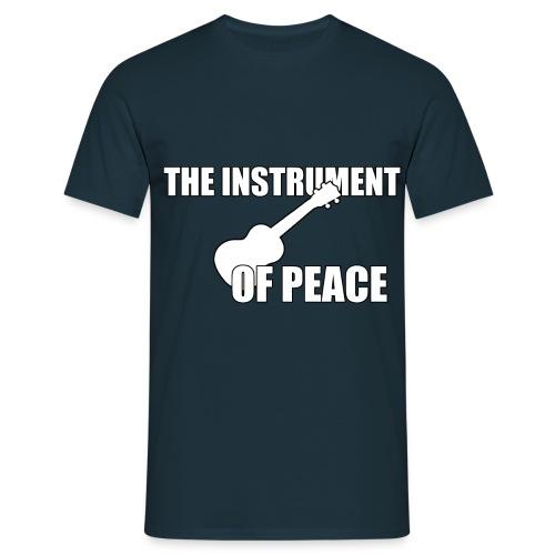 Ukulele Peace - Männer T-Shirt