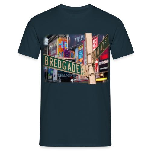 bredgade png - Herre-T-shirt